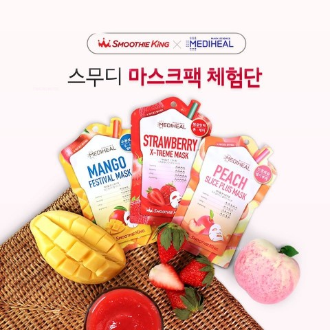 Smoothie King×MEDIHEAL強強聯手推出新商品
